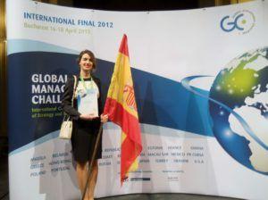 Inés García-Nieto en la Final Internacional de Bucarest (2013)