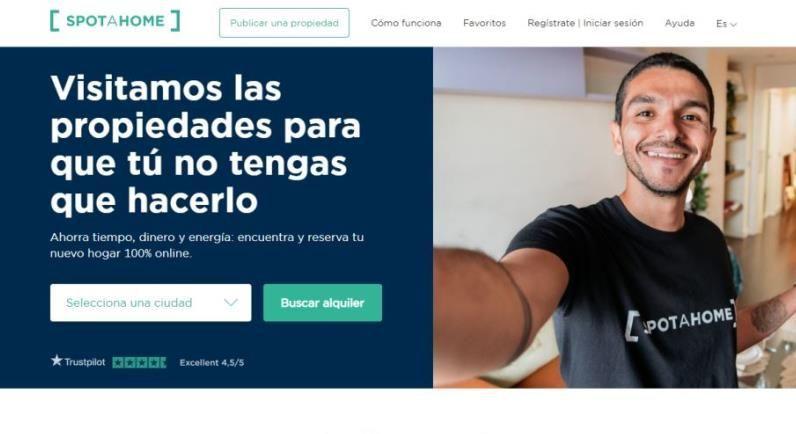 Startups españolas - spotahome - mercado inmobiliario