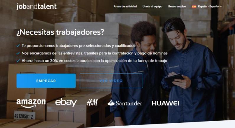 mejores startups españolas Jobandtalent