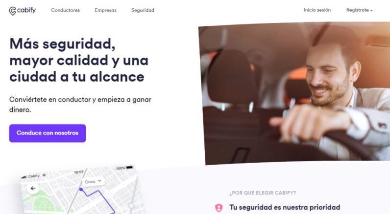 Cabify startup española