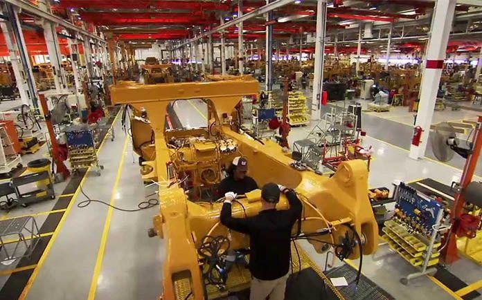 lean Cartepillar manufacturing